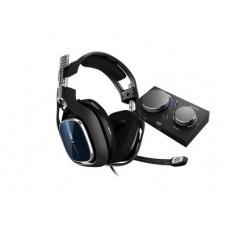 ASTRO A40 TR PS4/PC & MIX AMP PRO TR - Ενσυρματα Gaming Ακουστικά - Μαύρο/Μπλέ