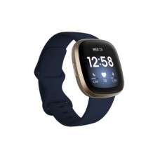 FITBIT Versa 3 Smartwatch - Μπλέ / Χρυσό