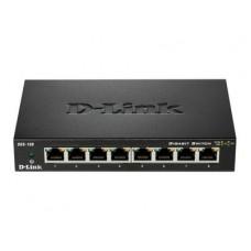 D-LINK - 8-Port Unmanaged Gigabit Metal Desktop Switch