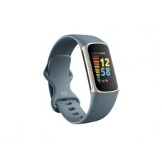 FITBIT Charge 5 Activity Tracker - Steel Blue