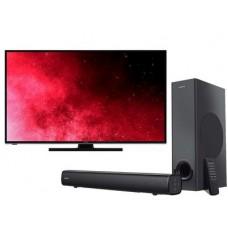 HITACHI TV 43'' K-Smart UHD 43HK6100  + SPEAKERS BT CREATIVE STAGE MF8360